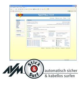 Avm fritz box 7360 internet und voip telefonie - Fritzbox 7330 login ...